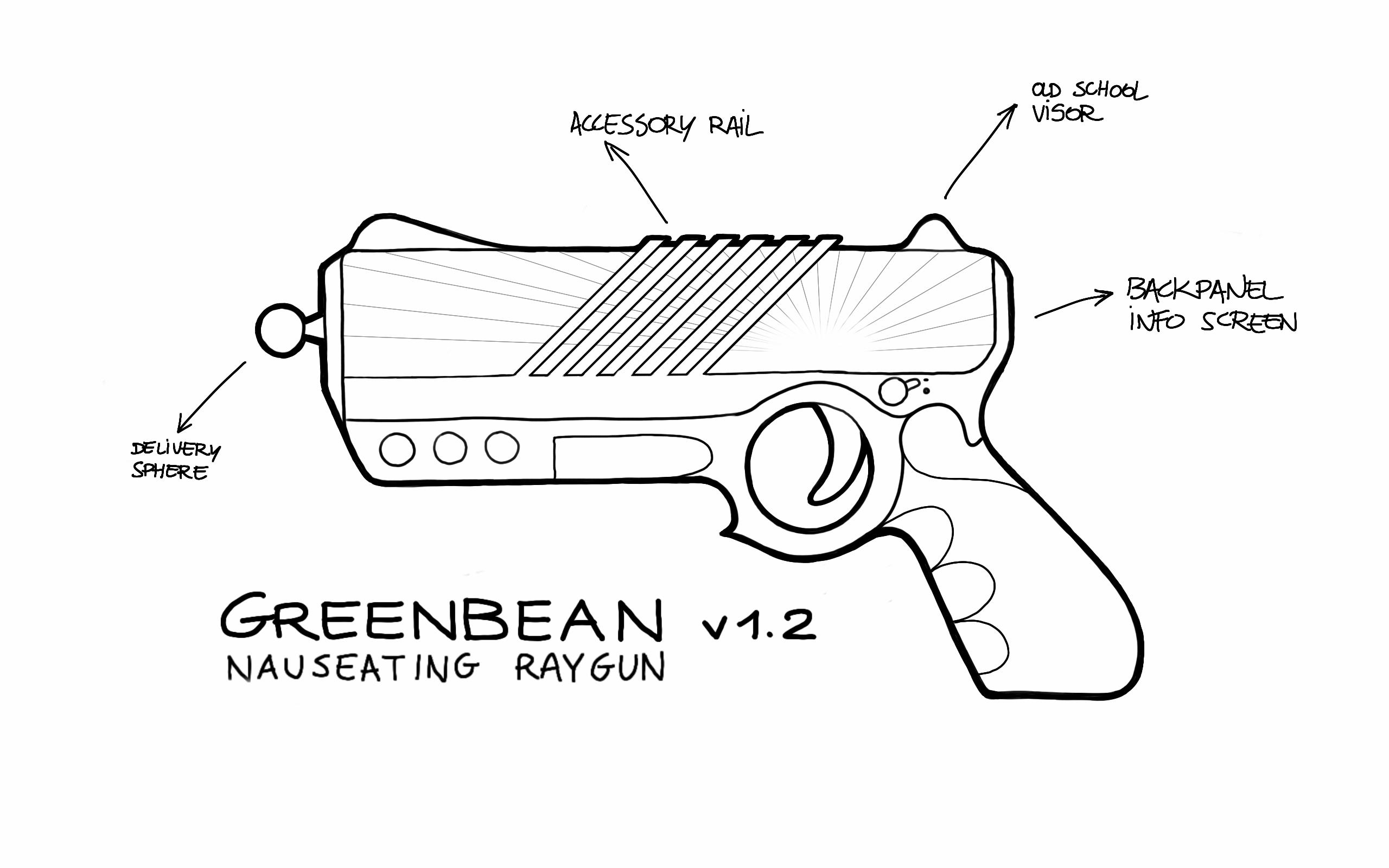 Ray Gun Coloring Pages. TOYS - SLUGTERRA - Pistola : Eli\'s Basic ...